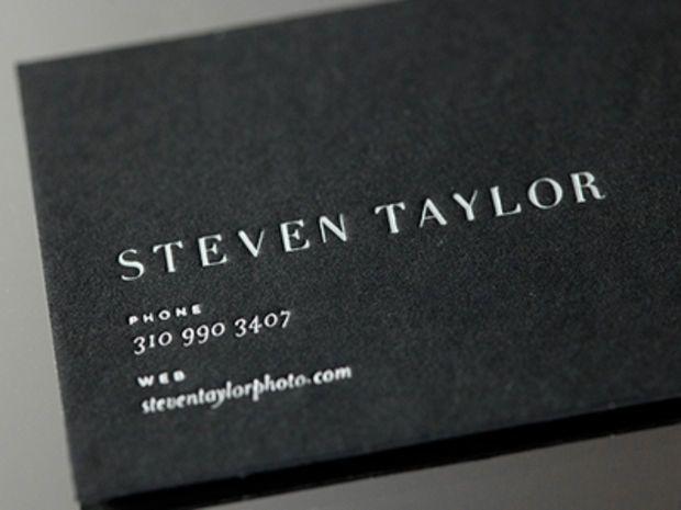 55 Inspiring Business Card Designs Business Card Design Cool Business Cards Black Business Card