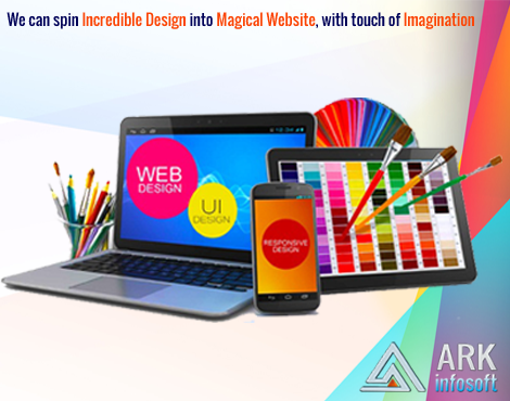 Website Development Services Help Your Company To Increase Product Knowledge Ark Infosoft Is A Top Website Web Design Tools Website Design Company Web Design
