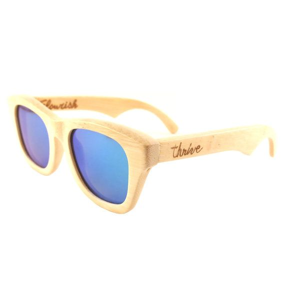 a1d7c951ffe0 Thrive Shades on sale for $60 with free shipping! Our handcrafted wood  sunglasses have UV 400 polarized lenses and float on water!