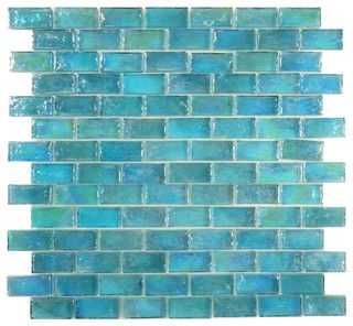 Sheet Size 11 7 8 X 11 7 8 Tile Size 3 4 X 1 5 8 Tiles Per Sheet 98tile Thickness 1 4 Grout Joints 1 8 Sheet Mount Plastic Faceso Iridescent Tile Blue Glass Tile Glass Mosaic Tiles