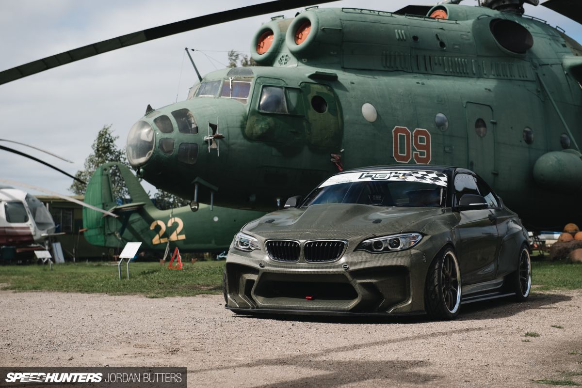 Hgk s bmw f22 eurofighter packs 820hp under kevlar tuned modded cars pinterest f22 bmw and cars