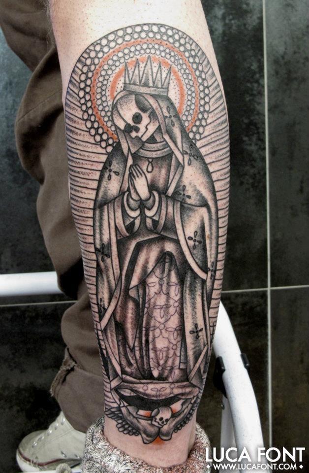 Tatuajes de la santa muerte significado y su historia | Tattoo ideas ...