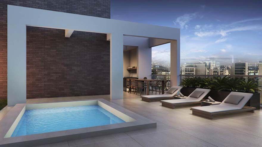 Como decorar una terraza con piscina decoraci n terrazas for Piscinas en espacios muy pequenos