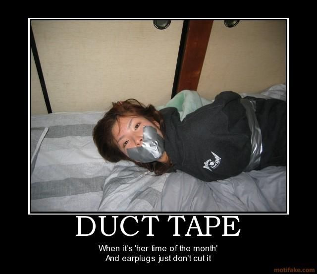 Duct tape porn
