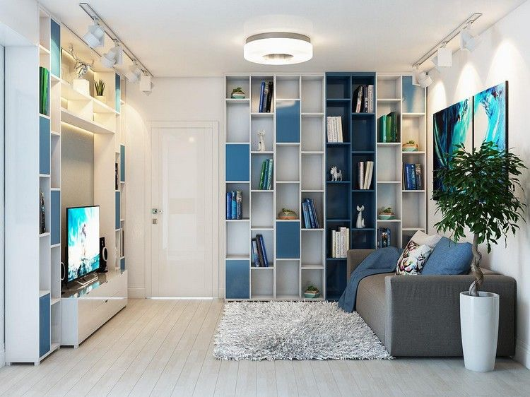 Déco salon gris blanc bois en 35 idées originales pour revitaliser
