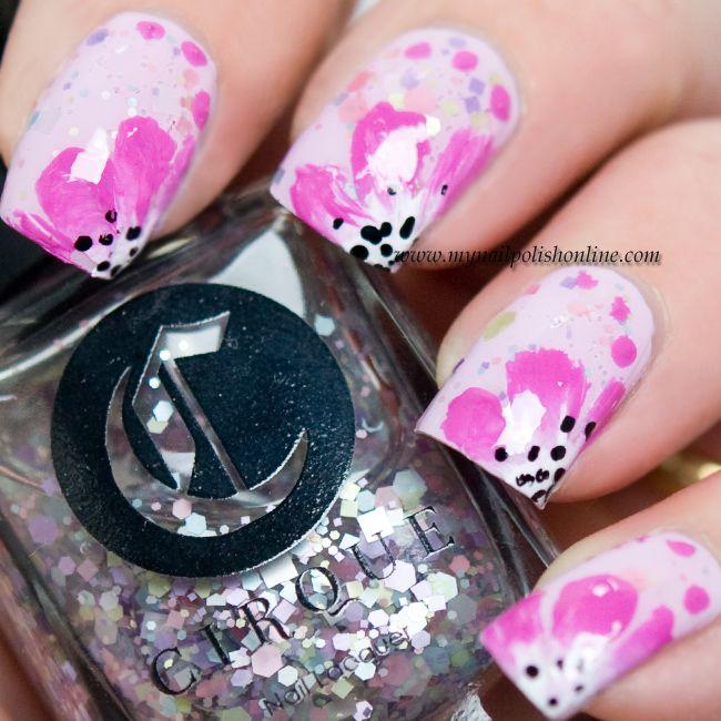 Nail Art Sunday Nails Flower Nails Pinterest Nail Polish