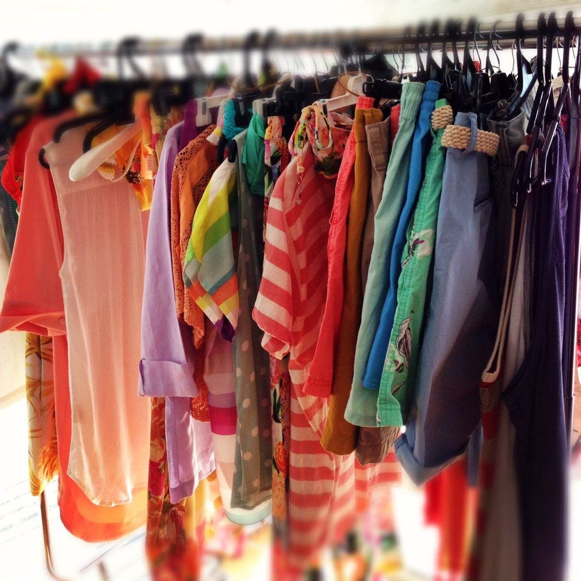 Hello Summer · Colour, Colour, Colour! Our Dreamy Wardrobe On Set At Our  Latest Commercial Shoot