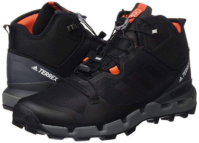 753943c9f838 adidas Men s Terrex Fast Mid GTX-Surround High Rise Hiking Shoes ...