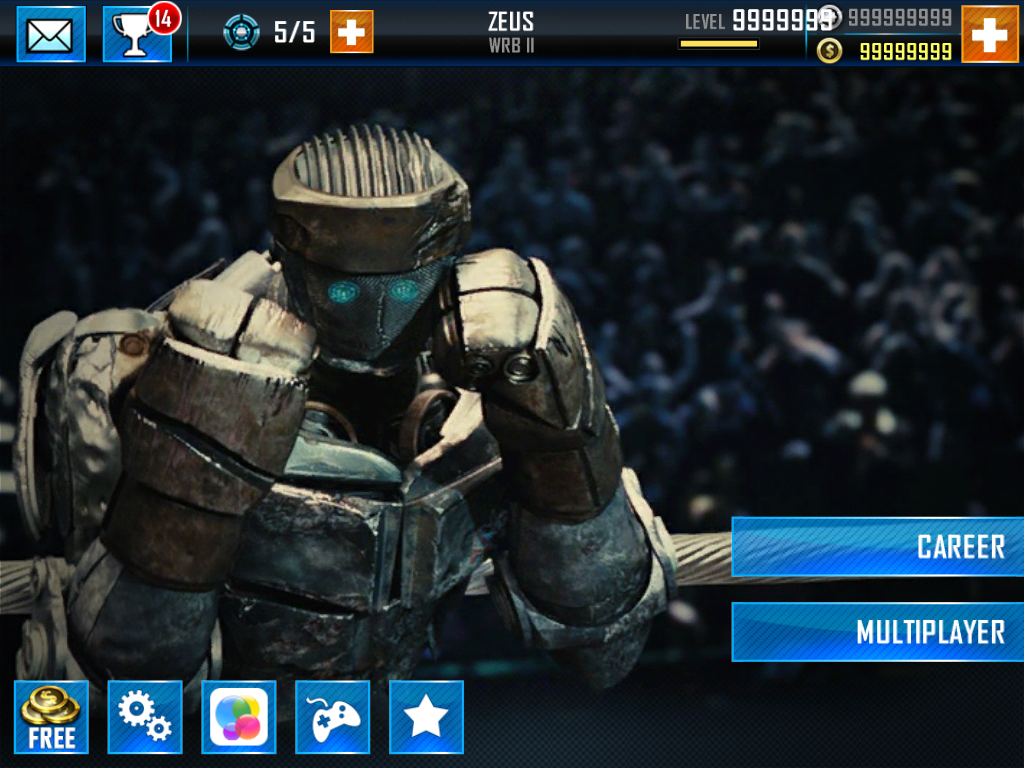 Real Steel World Robot Boxing hack for iOS devices