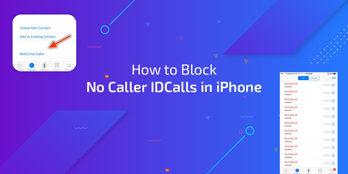 How to block no caller id calls in iphone here is the