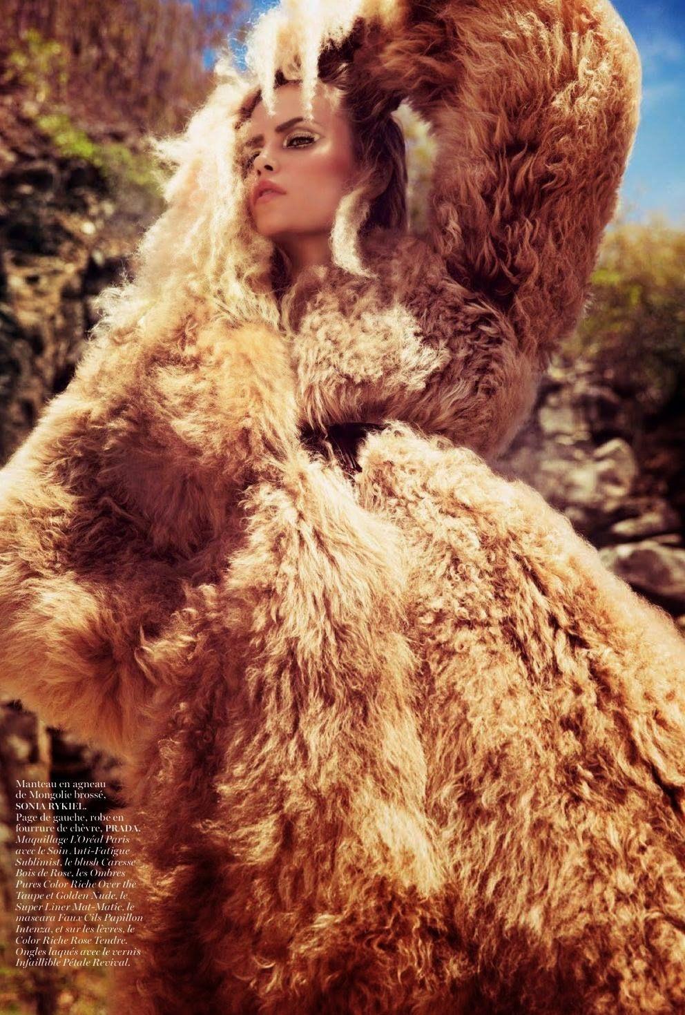 Natasha Poly for Vogue Paris November 2014