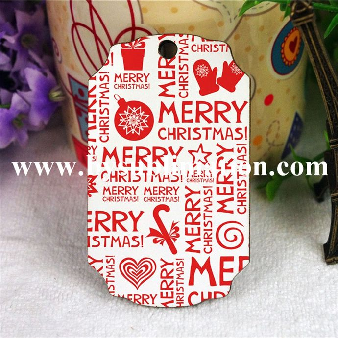 High Quality Sublimation Blank Mdf Christmas Ornament - Buy