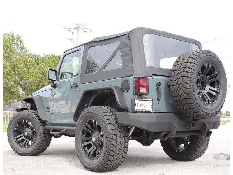 N Fab Nerf Steps For 07 14 Jeep® Wrangler U0026 Wrangler Unlimited JK