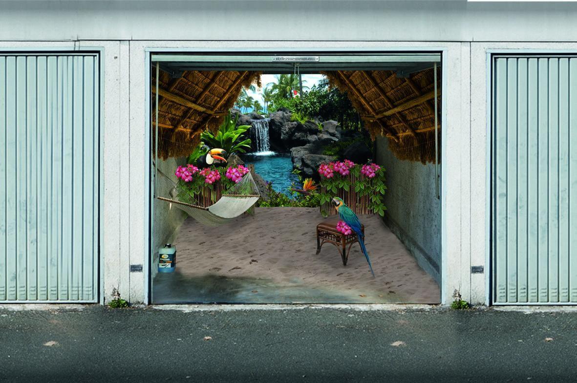 Diakosmhste Thn Porta Toy Gkaraz Sas Garage Doors Door Murals
