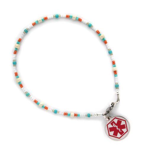 Medical Alert Ankle Bracelet Calypso
