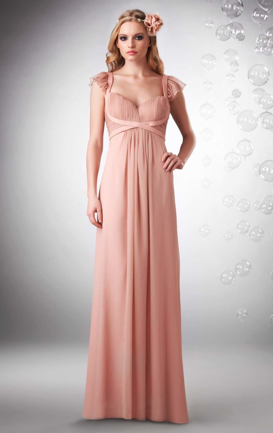 Aliexpress.com : Buy Elegant Latest Design Pink Maternity Bridesmaid ...