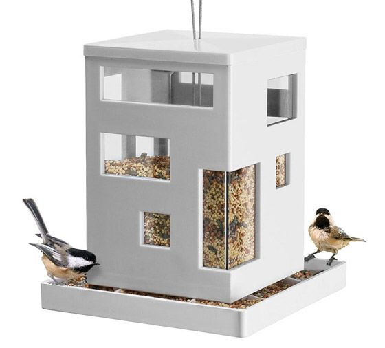 8 Cool And Modern Bird Feeders Modern Bird Feeders Bird Feeders Bird Houses