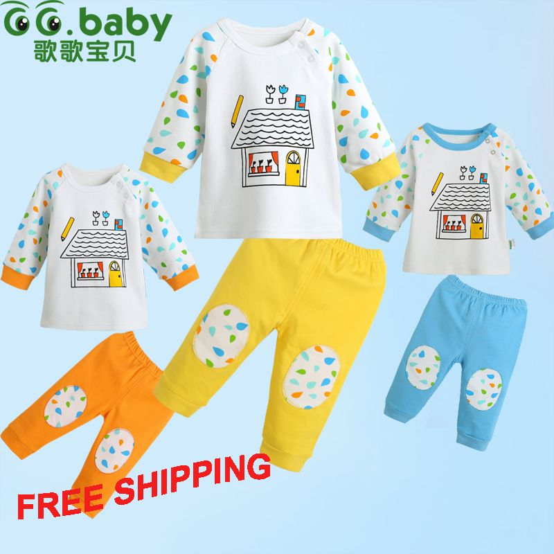 Aliexpress Com Buy 2015 New 100 Cotton Summer Baby Sets Unisex Casual Newborn Baby Girl Boy Clothes Set Infant Outfit Sets Newborn Outfits Boys Girl Fashion