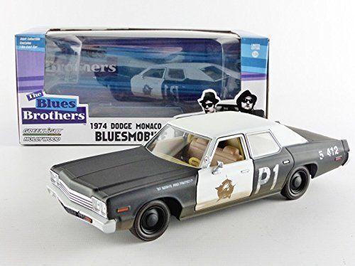 "1974 Dodge Monaco Bluesmobile /""The Blues Brothers/"" Movie 1//24 Greenlight 84011"