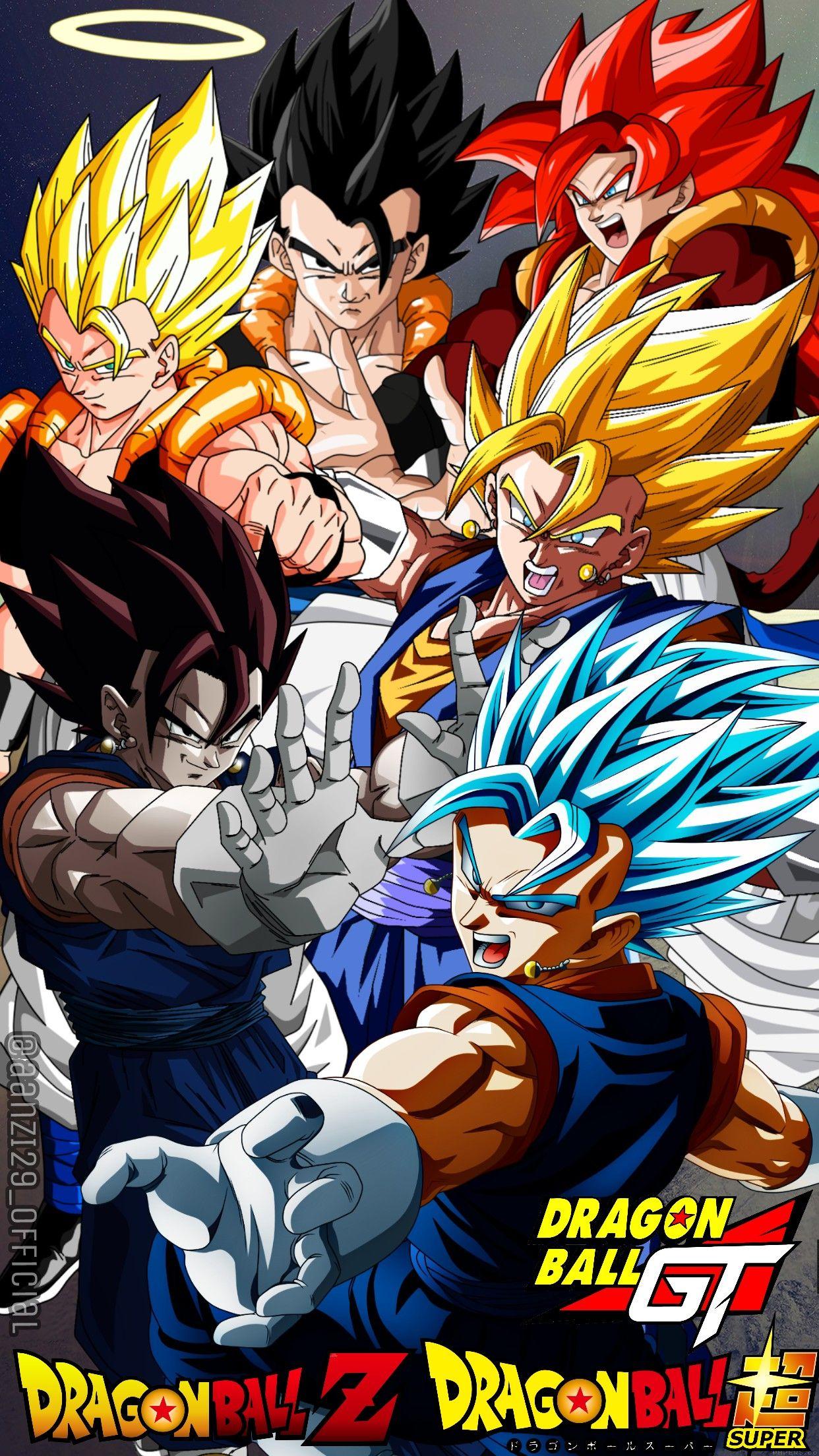 The Fusion - Gogeta - Vegito - Dragon Ball by AlAnas2992 on DeviantArt