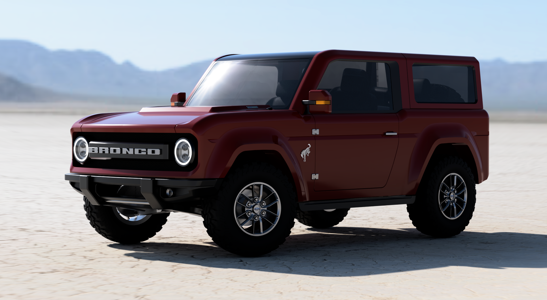 [Unofficial] Production Bronco Renders based on Bronco R