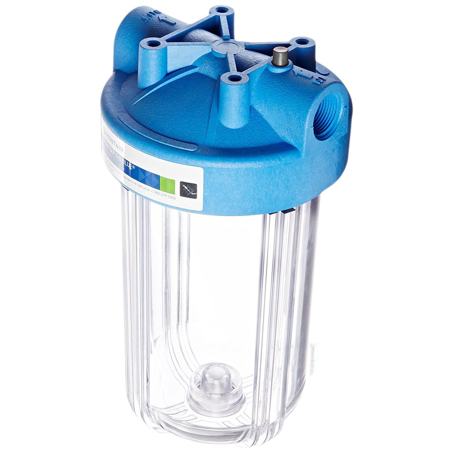 Pentek Big Clear Lx 10 Whole House 10 Filter Housing Clear Filters Whole House Water Filter Blue Filter