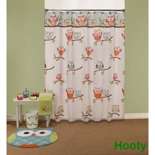 Ordinaire Hooty Owl Shower Curtain: Amazon.com: Home U0026 Kitchen