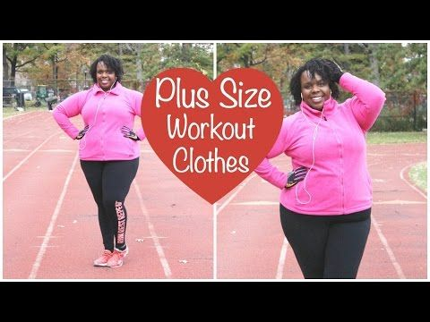 35105e34a1 Winter Plus Size Workout Clothes ♥ Plus Size Running Tips - YouTube ...