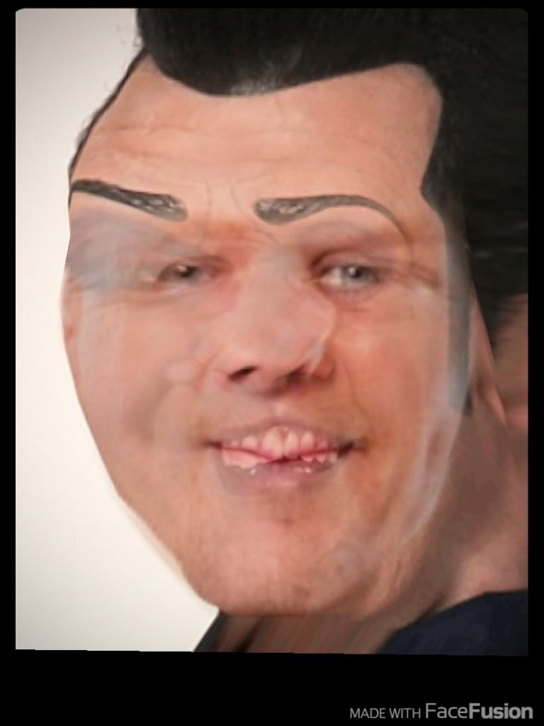 I TRIED MORPHING RICK HARRISON AND ROBBIE ROTTEN AND I AM