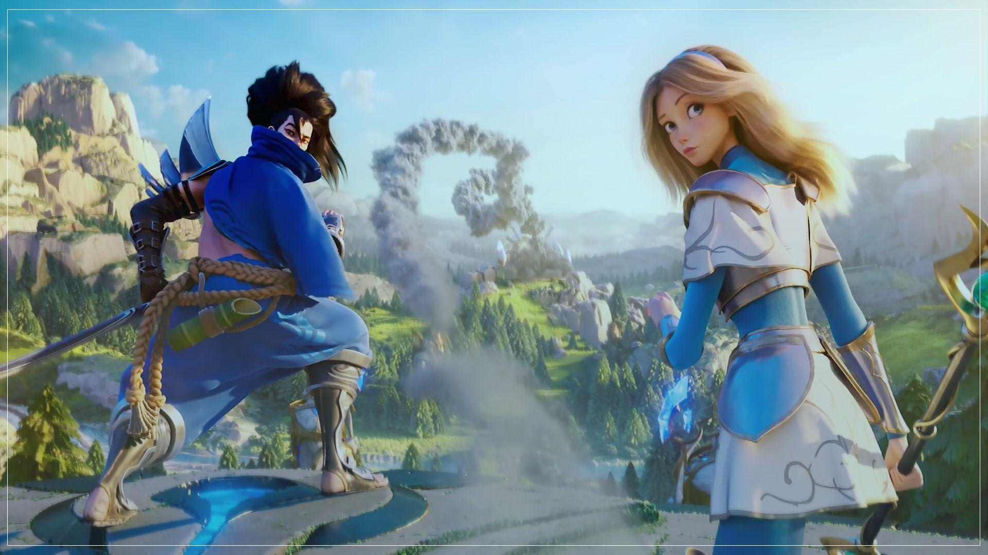 League Of Legends Wild Rift Screenshot Yasuo Lux League Of Legends Cinematic Trailer League