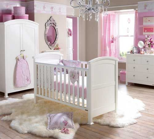 Baby Girl Nursery Ideas: 10 Pretty Examples | Decorating Room