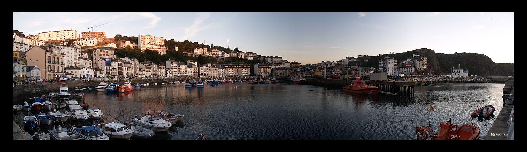 Panor Mica Del Puerto De Luarca Asturias Spain Mis Fotos  # Muebles Luarca Asturias