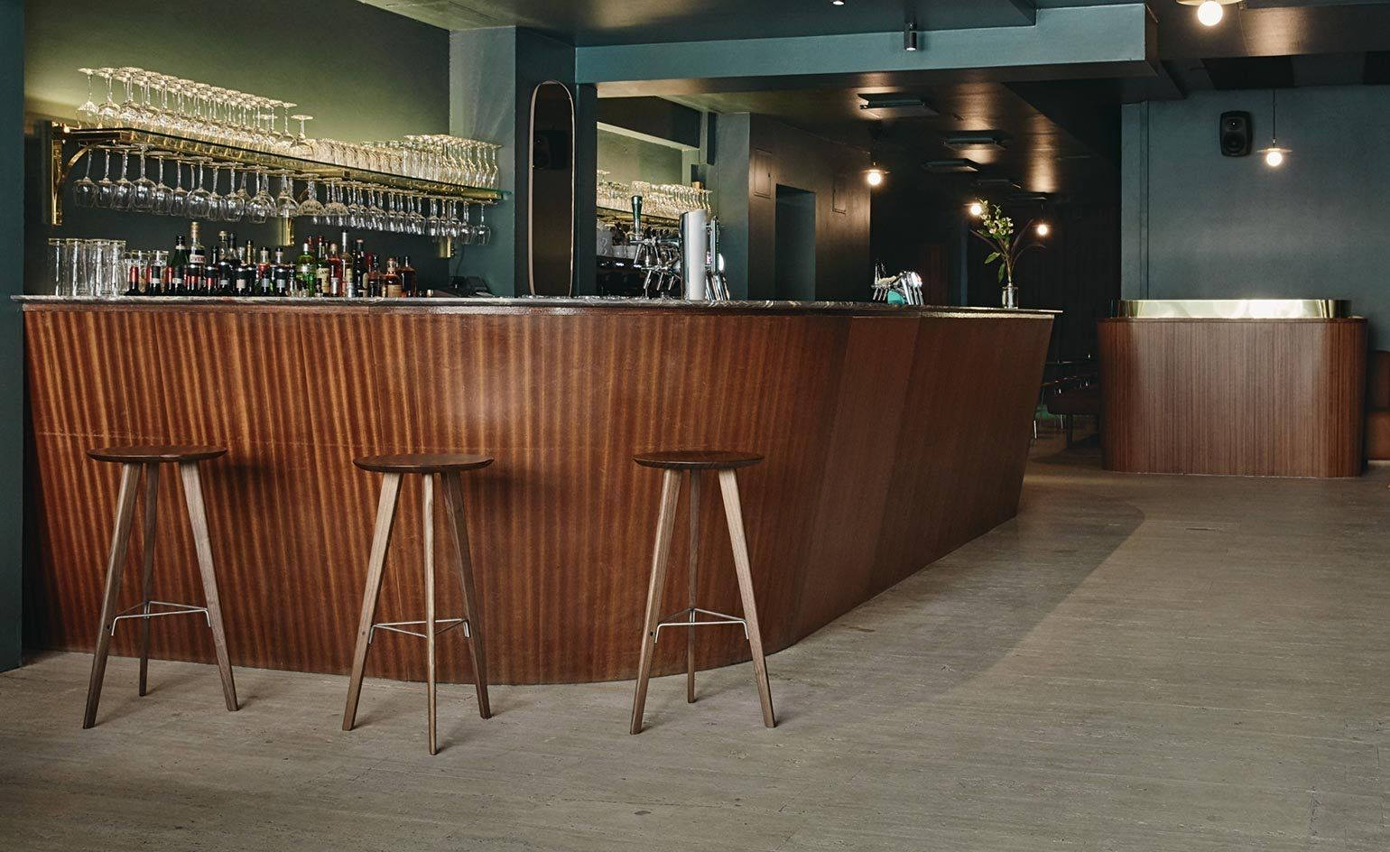 when antti eerika¤inen asked studio joanna laajisto to design a bar