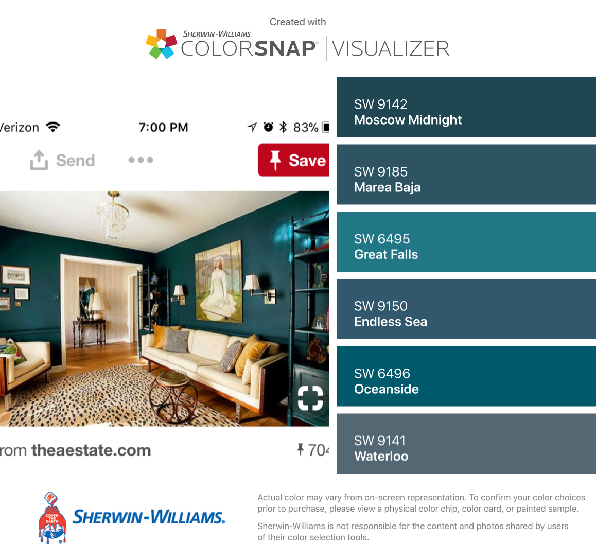 I Found These Colors With Colorsnap Visualizer For Iphone By Sherwin Williams Moscow Midn Paint Colors For Home Front Door Paint Colors Exterior House Colors