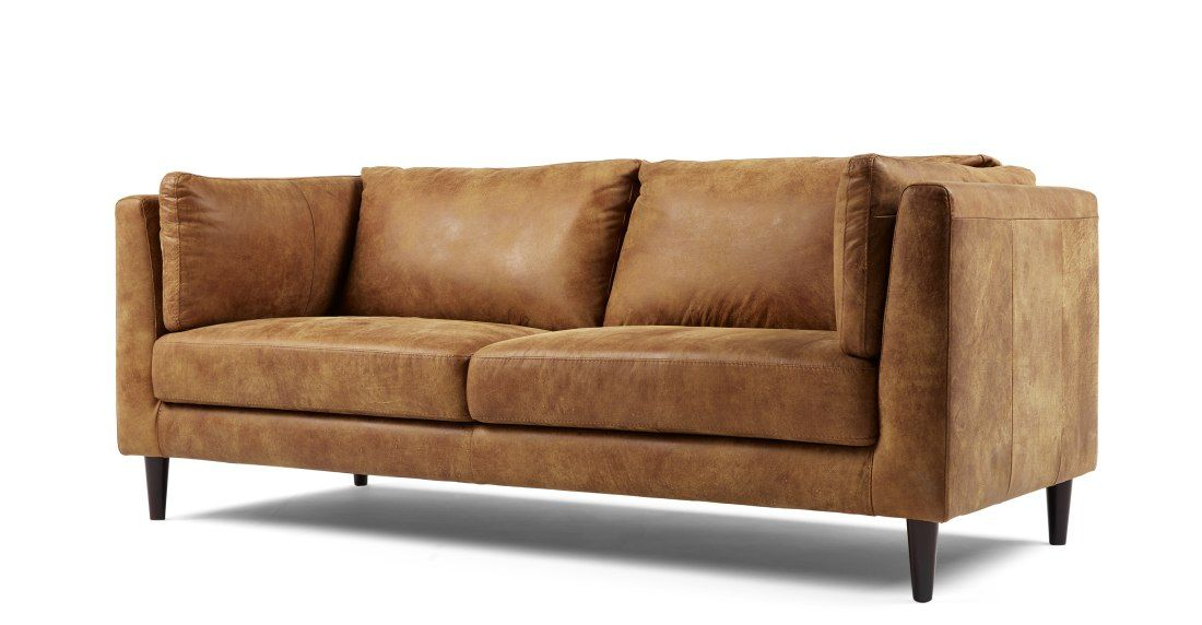 Lindon 3 Seater Sofa Outback Tan Leather 3 Seater Sofa Seater Sofa Sofa