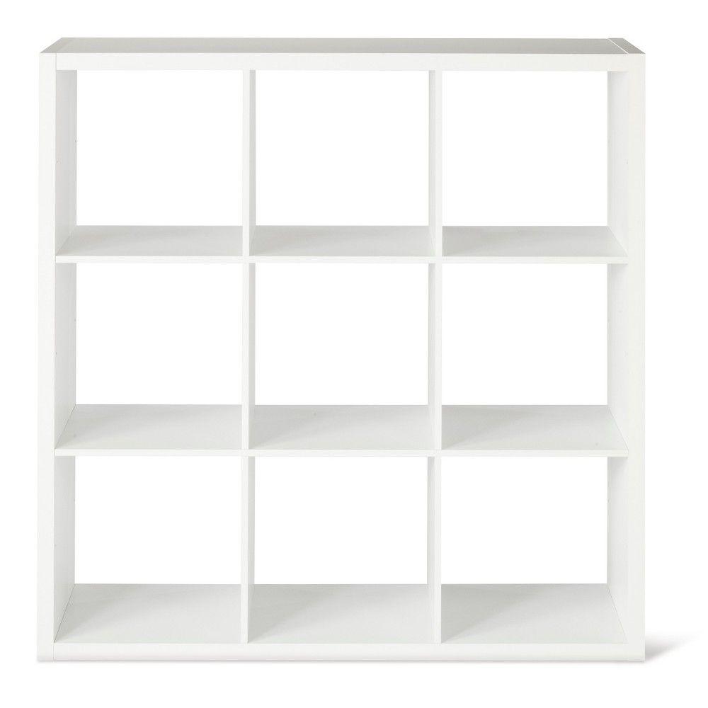 9-Cube Organizer Shelf White 13