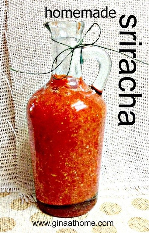 Easy homemade sriracha recipe