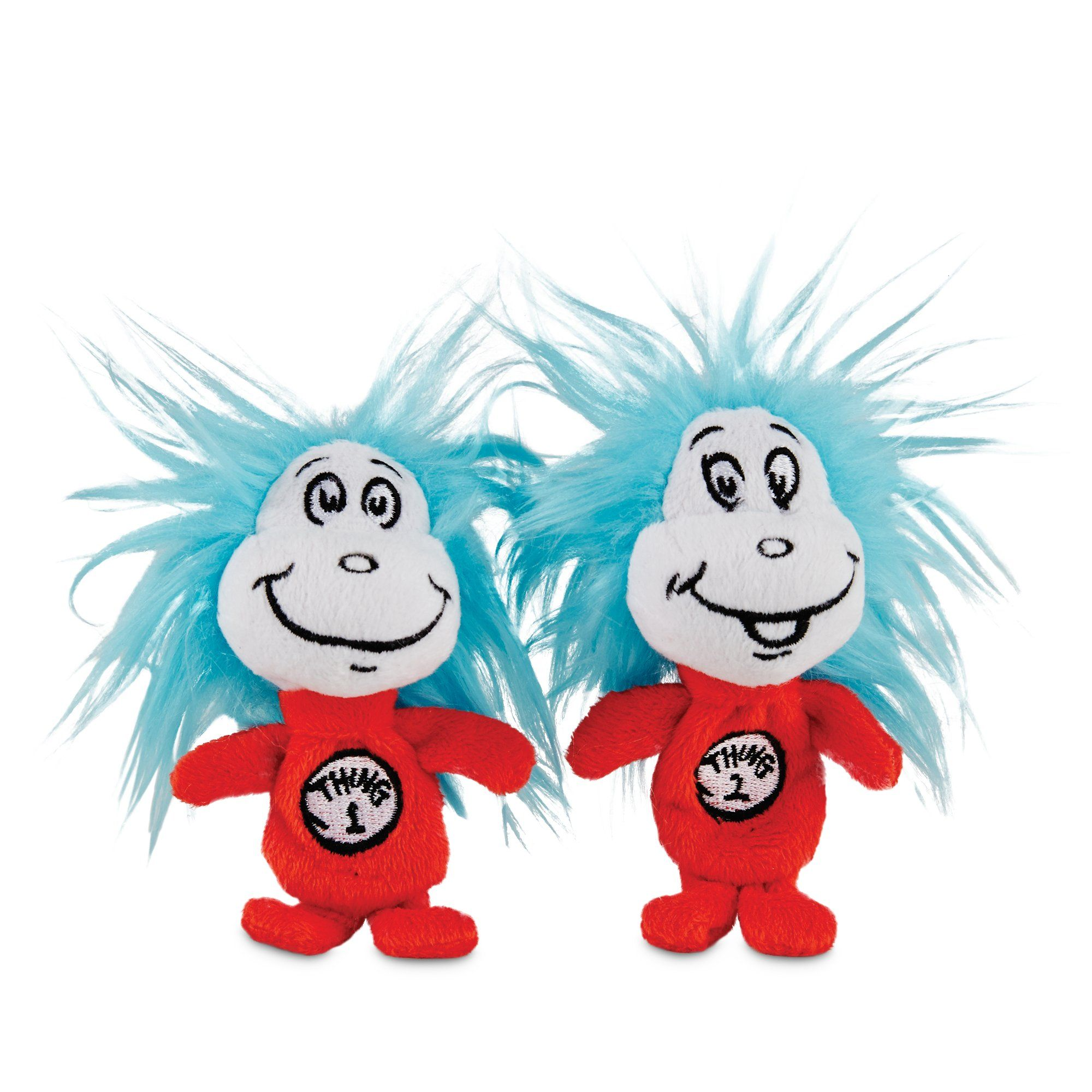 Dr Seuss Thing 1 & Thing 2 Dog Toy Petco
