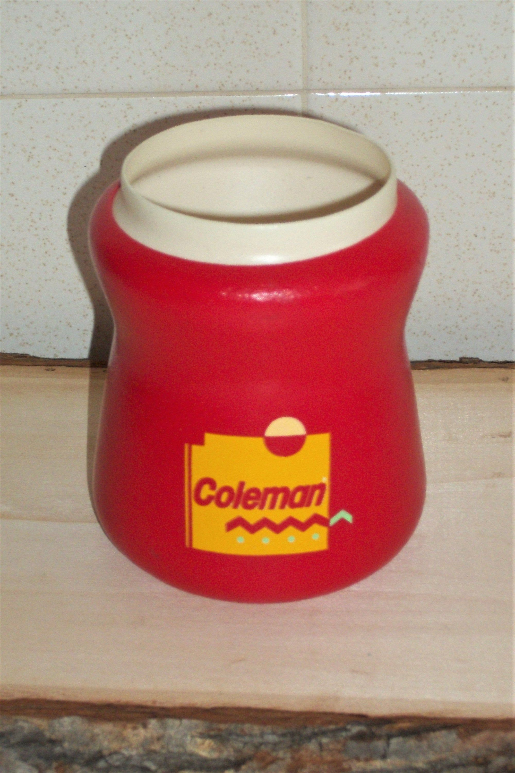 70s Vintage Coleman Koozie Can Cooler Soda Beer Beverage Foam Cooler Coozie Coozy Camping Drinking 1970s Retro Cozie In 2020 Camping Drinks Canning Red Foams
