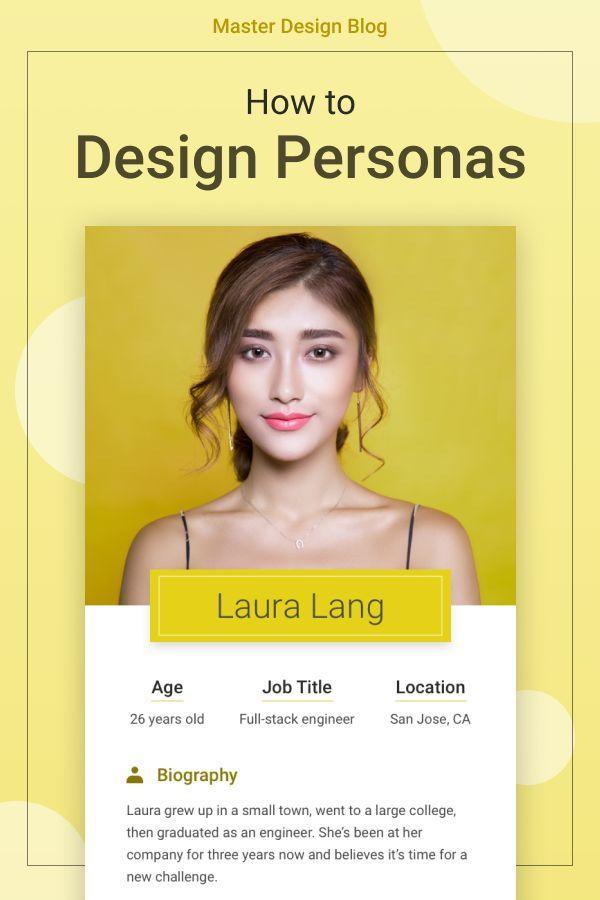 Persona Templates | 4 Themes + 2 Bonuses | Master Design Blog