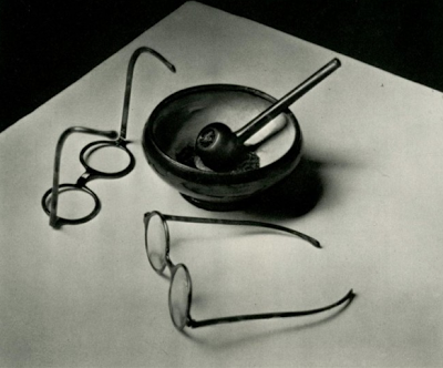 Andre Kertesz, Mondrian's Glasses and Pipe