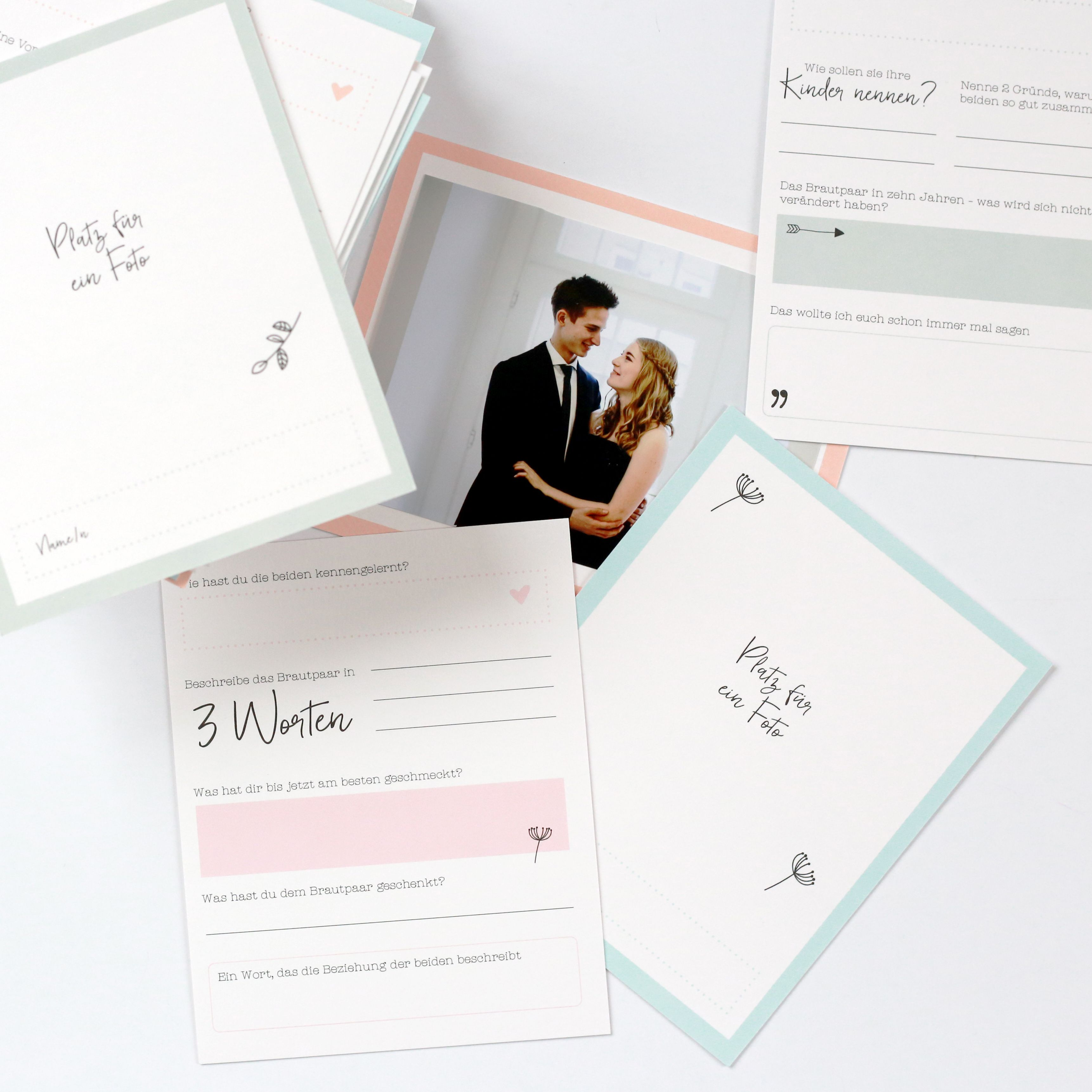 Bezaubernd Gästebuch Hochzeit Seite Gestalten Dekoration Von Hochzeits Gästebuchkarten Zum Selbst Gestalten. Hochzeit, Wedding,