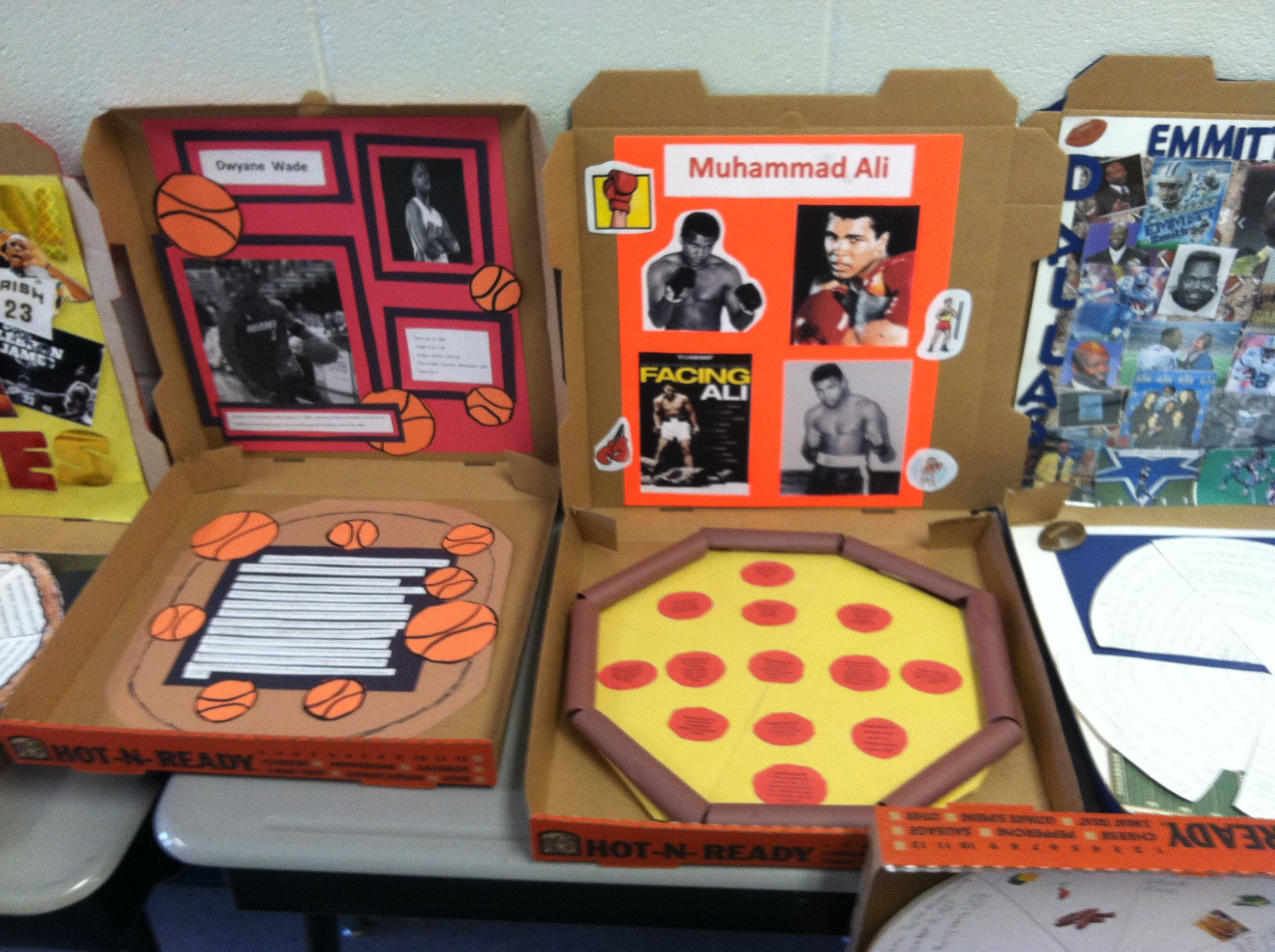 Kitchen Diorama Made Of Cereal Box: Miss Jones's Classroom