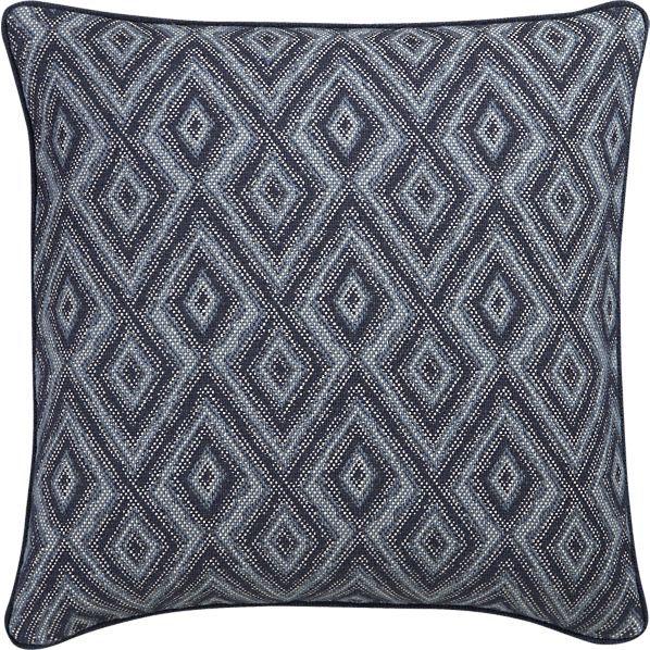Kazia 40 Pillow In Decorative Pillows Crate And Barrel Accents Amazing Crate And Barrel Decorative Pillows