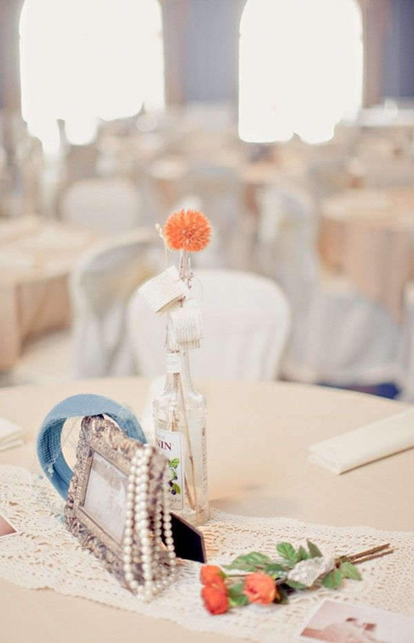 2014 diy beach wedding centerpiece ideas glass table decor for