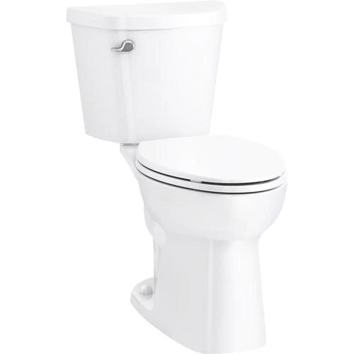 Sterling Garwind White Watersense Elongated Comfort Height 2 Piece Vitreous China Toilet 12 In Rough In Size Ada Compliant In 2020 Water Sense China Toilet Toilet