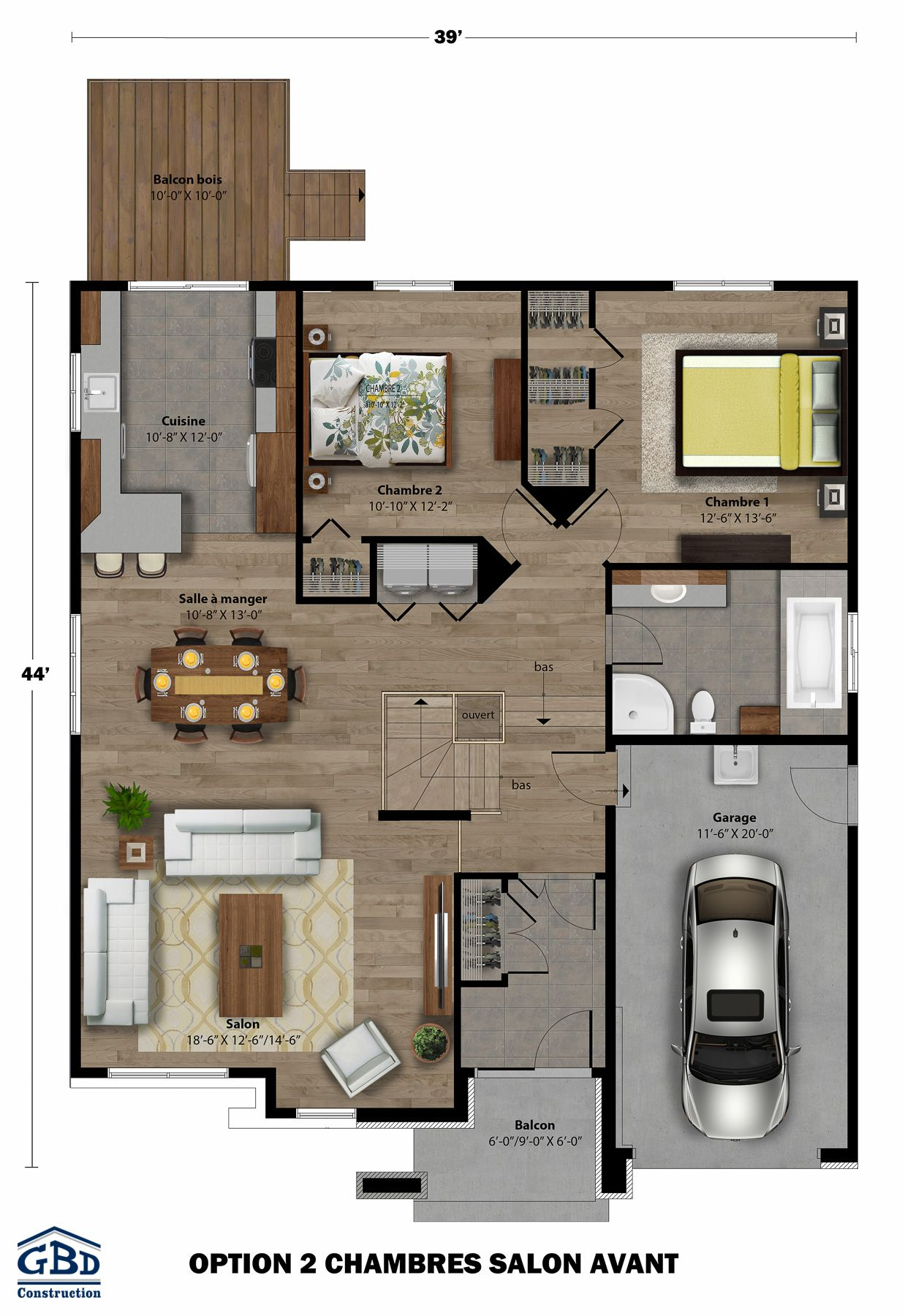 Plan du modèle apartment design bungalow future house floor plans plane