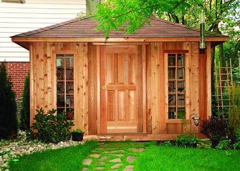 cedar sonoma shed 8x12 with single door in columbus ohio id number 533 - Garden Sheds Ohio