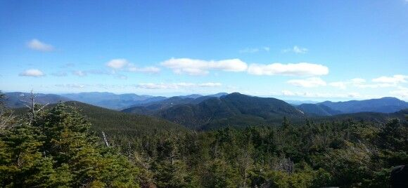 View from almost to the top of Mt Marcy...Adirondacks