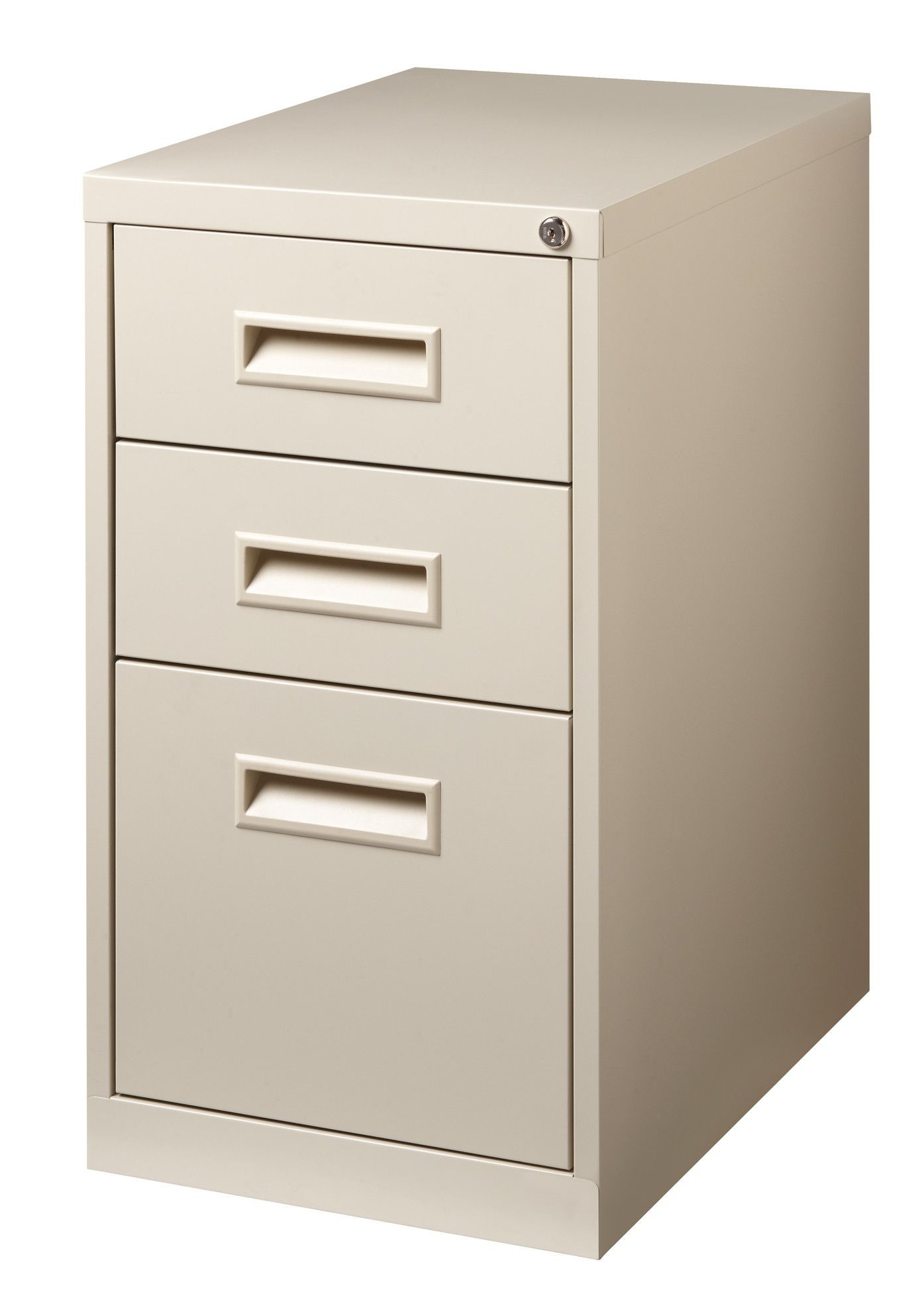 3 Drawer Mobile Vertical Filing Cabinet